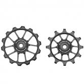 pulley hjul-token-road-1724-alu-sort-12/14-alm