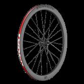 hjul-token-road-700c-c45rd-cl-ca-ud-493-alu-sort-disc-alm