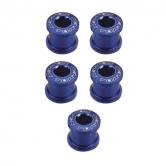 Kettenblattschrauben-blau-Alu